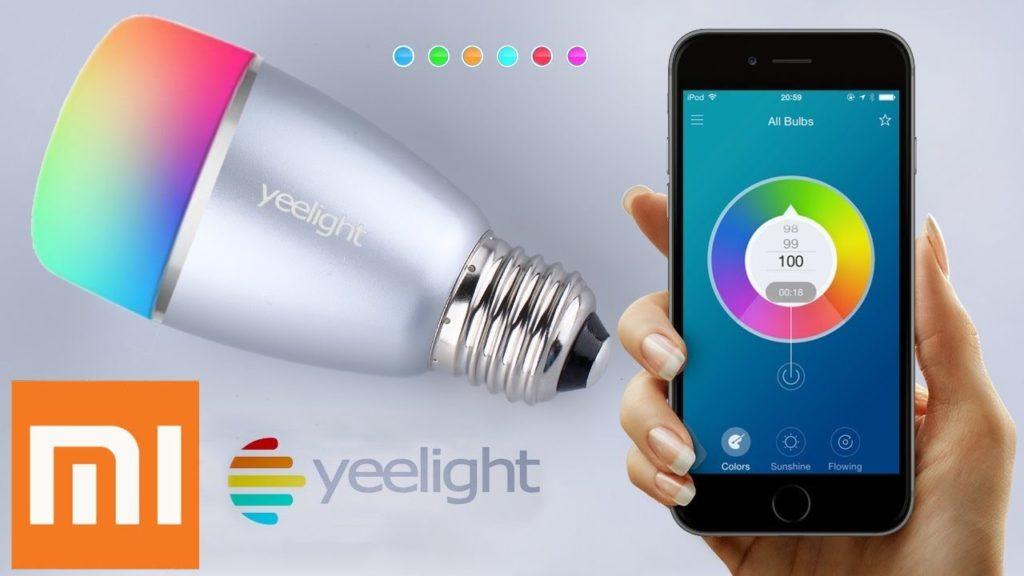Bombilla Yeelight inteligente de Xiaomi